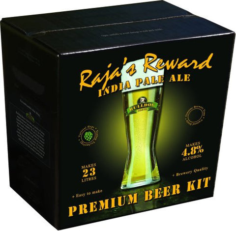 Bulldog Brews Raja's Reward India Pale Ale 3.4kg - 40 pints (4.8%)