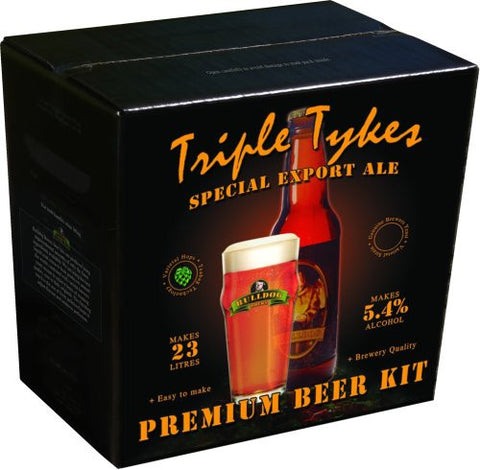 Bulldog Brews Triple Tykes Special Export Ale 4kg - 40 pints (5.4%)