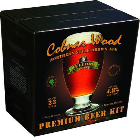 Bulldog Brews Cobnar Wood Northern Brown 3.8kg - 40 pints (4.8%)
