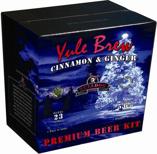Bulldog Brews Yule Brew Cinnamon & Ginger 3.8kg - 40 pints (5.6%)