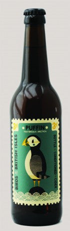 Puffin Bottle-Conditioned Dry 500ml (Perry's) - 6.5%