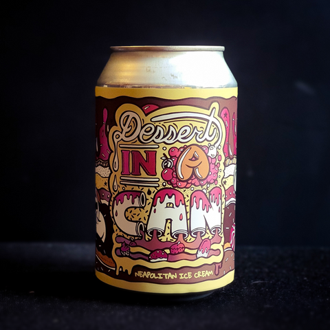 Dessert in a Can: Neapolitan Ice Cream | 10.5% | 330ml Can