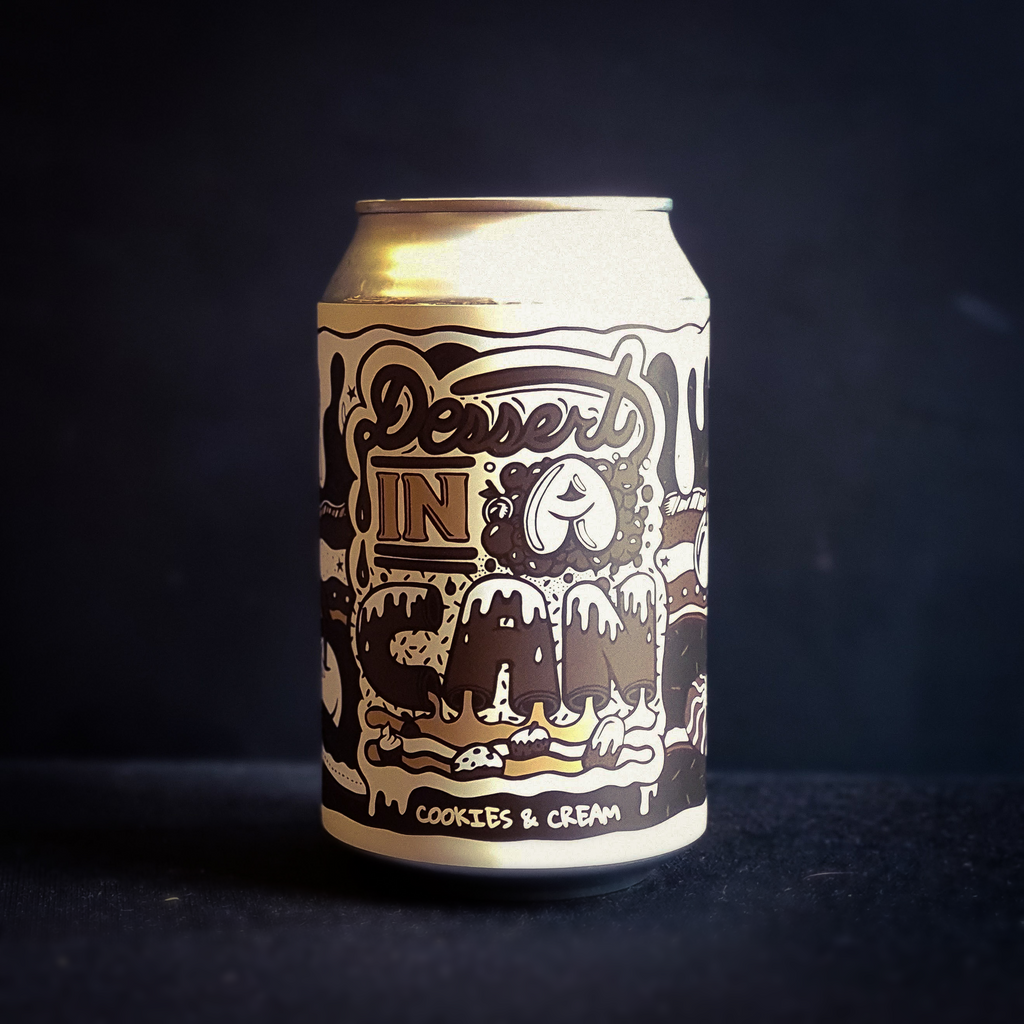 Dessert in a Can: Cookies & Cream | 5% | 330ml Can