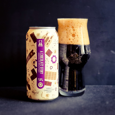 A Chocolate Story | 4.8% | 440ml Can