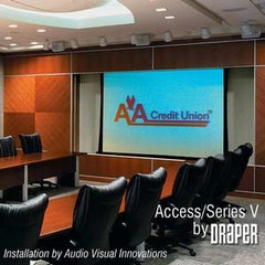 "Draper Access Electric Projection Screen - 120"" - 1:1"