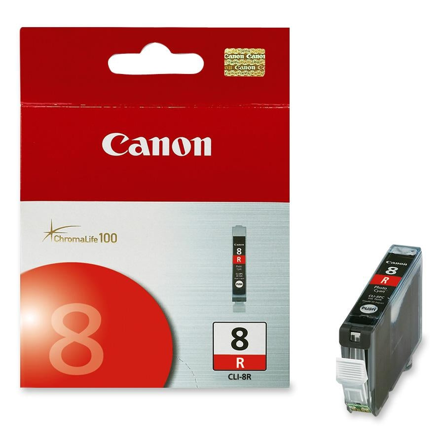 Canon CLI-8 Original Ink Cartridge - Inkjet - Red - 1 Each (0626B002)