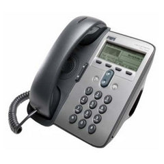 Cisco 7911G IP Phone - Dark Gray - VoIP - 2 x Network (RJ-45) - Monochrome (CP-7911G-RF)