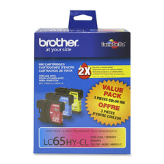 Brother Ink Cartridge - Inkjet - High Yield - 750 Pages - Cyan, Magenta, Yellow - 3 / Pack (LC653PKS)