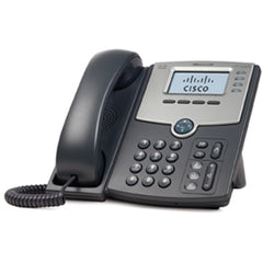 Cisco SPA 502G IP Phone - 1 x RJ-7 Headset, 2 x RJ-45 10/100Base-TX , 1 x Sub-mini phone Headphone - 1Phoneline(s) (SPA502G)
