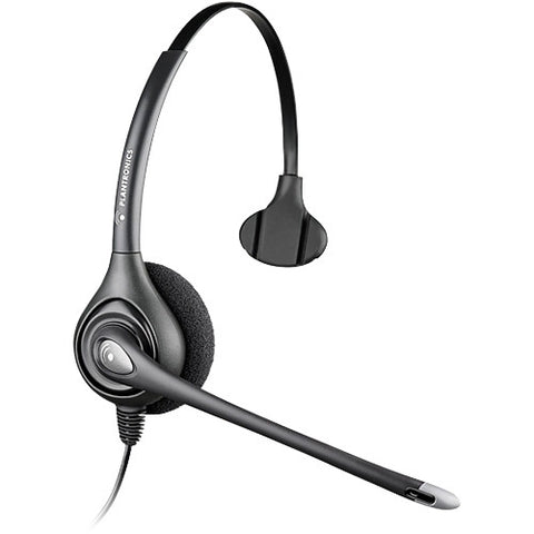Plantronics SupraPlus HW251N Headset - Mono - Wired - Over-the-head - Monaural - Semi-open - 3.9 ft Cable (64338-31)