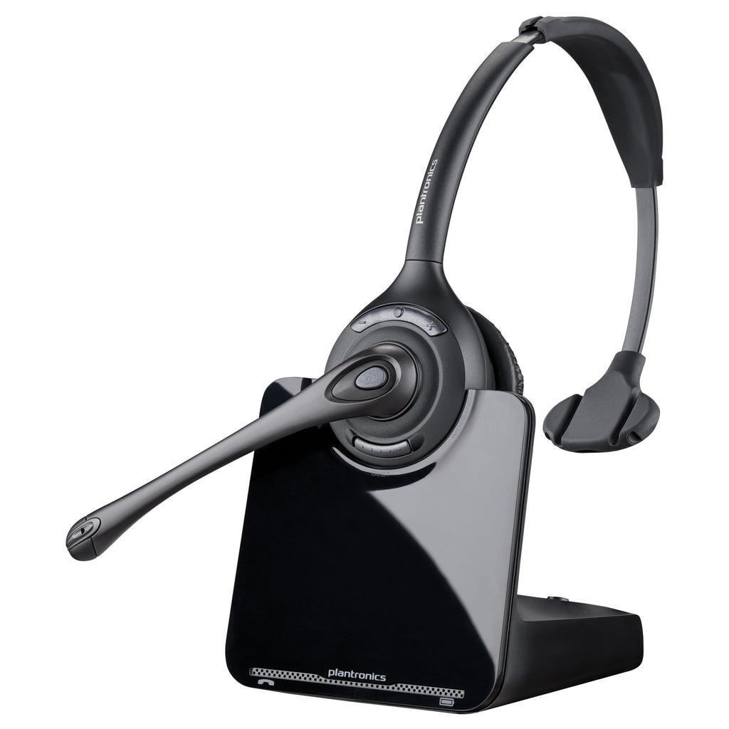 Plantronics CS510 Over-the-head Monaural - Mono - Wireless - DECT - 350 ft - Over-the-head - Binaural - Ear-cup - Noise Cancelling (84691-11)
