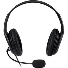 Microsoft LifeChat Headset - Stereo - USB - Wired - Over-the-head - Binaural - 6 ft Cable - Noise Cancelling, Uni-directional (JUG-00016)