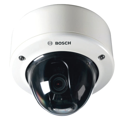 Bosch FlexiDome NIN-733-V10PS 1.4 Megapixel Network Camera - Color, Monochrome - 1280 x 720 - 2.3x Optical - CMOS - Cable - Fast (NIN-733-V10PS)