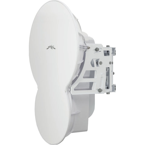 Ubiquiti airFiber AF24 1.37 Gbit/s Wireless Bridge - 8.1 Mile Maximum Outdoor Range - 1 x Network (RJ-45) - Pole-mountable (AF-24)