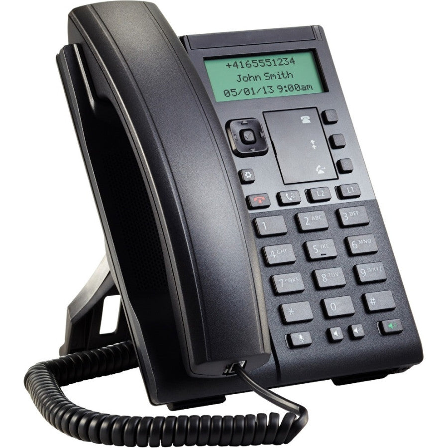 Mitel 6863i IP Phone - Cable - Desktop - 2 x Total Line - VoIP - Caller ID - Speakerphone - 2 x Network (RJ-45) - PoE Ports - - SIP, (80C00005AAA-A)