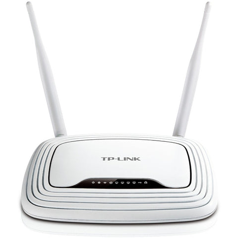 TP-LINK TL-WR842N IEEE 802.11n Ethernet Wireless Router - 2.40 GHz ISM Band(2 x External) - 300 Mbit/s Wireless Speed - 4 x Network - (TL-WR842N)