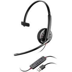 Plantronics Blackwire C310 Headset - Mono - Wired - Over-the-head - Monaural - Supra-aural (85618-102)