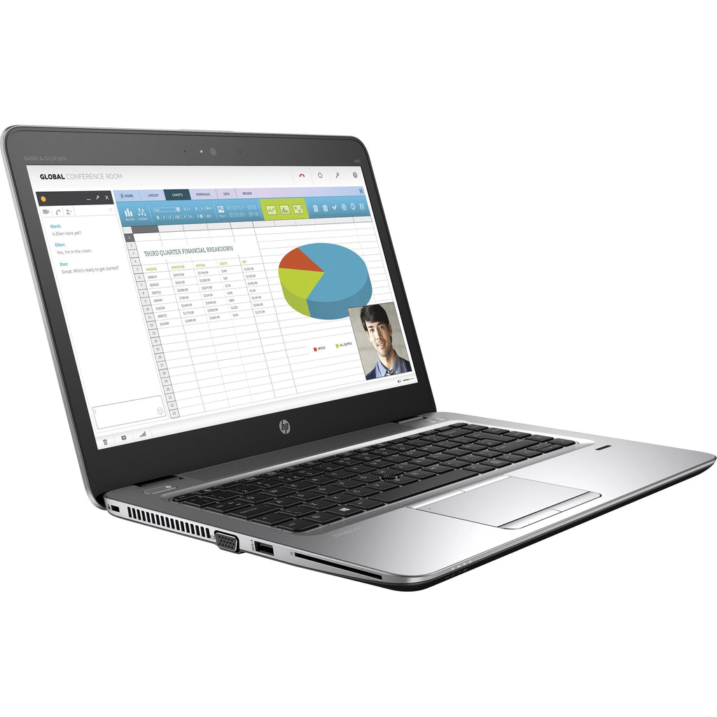 "HP mt42 14"" LCD Thin Client Notebook - AMD A-Series A8-8600B Quad-core (4 Core) 1.60 GHz - 8 GB DDR3L SDRAM - 128 GB SSD - Windows 10 (X9U90UT#ABL)"