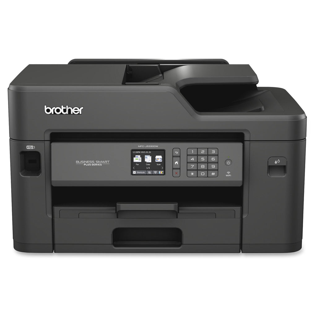 Brother Business Smart MFC-J5330DW Inkjet Multifunction Printer - Color - Plain Paper Print - Desktop - Copier/Fax/Printer/Scanner - - (MFCJ5330DW)