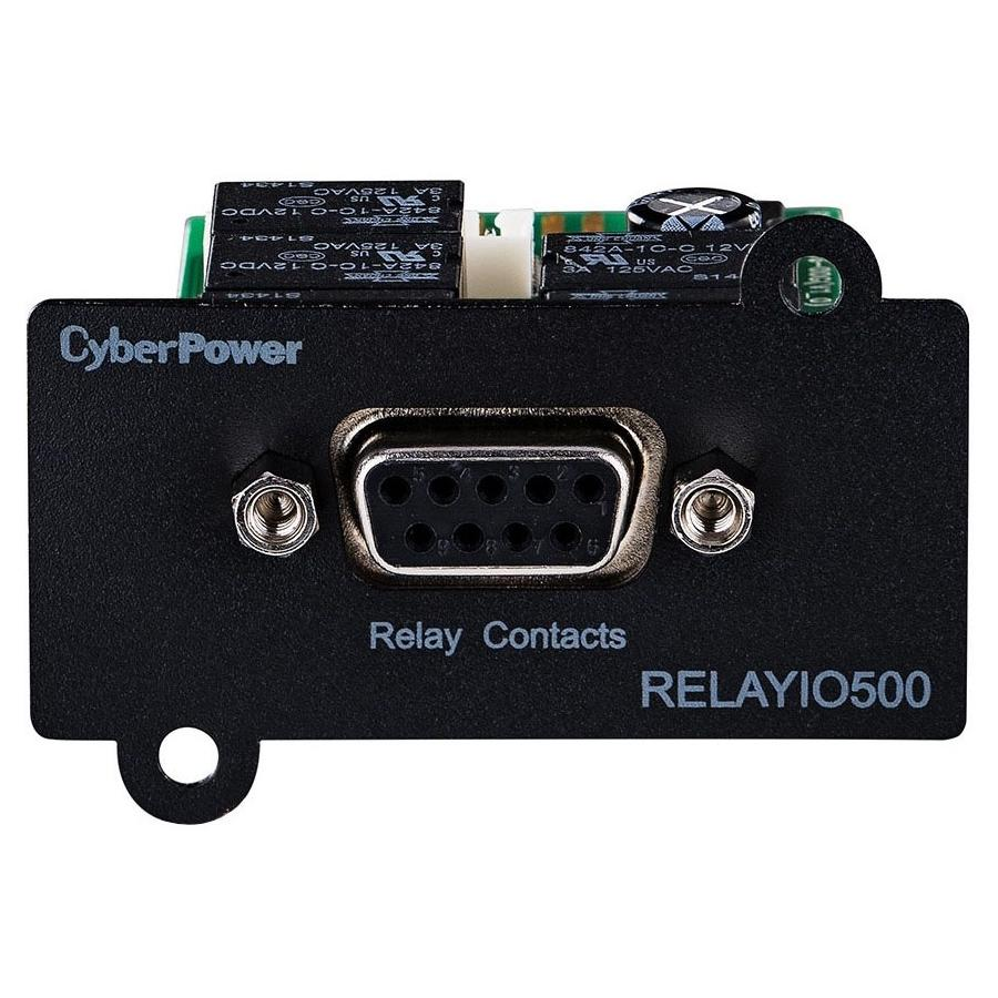 CyberPower RELAYIO500 Remote Power Management Adapter - Mini Slot - Serial (RELAYIO500)
