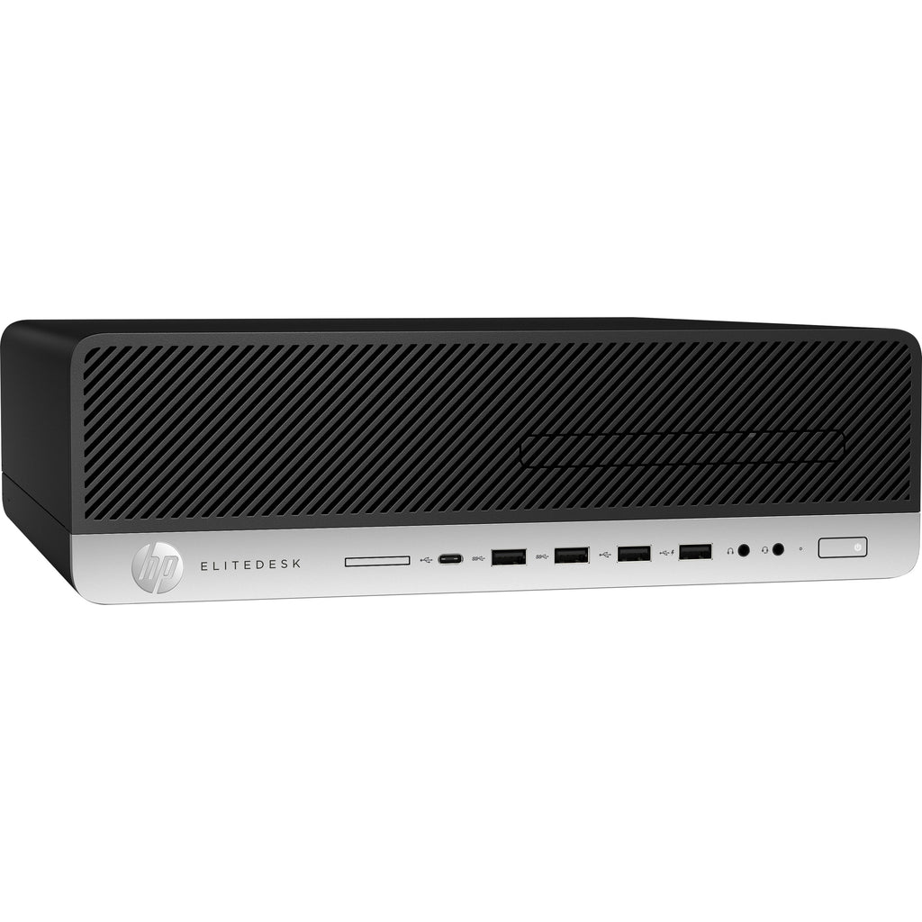 HP EliteDesk 800 G3 Desktop Computer - Intel Core i5 (7th Gen) i5-7500 3.40 GHz - 8 GB DDR4 SDRAM - 512 GB SSD - Windows 10 Pro 64-bit (1FZ08UT#ABA)