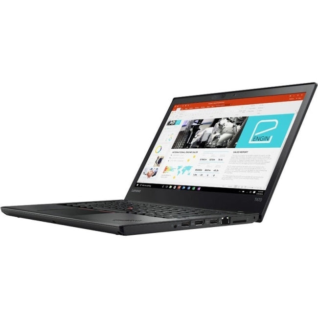 "Lenovo ThinkPad T470 20HD004BUS 14"" LCD Notebook - Intel Core i5 (7th Gen) i5-7300U Dual-core (2 Core) 2.60 GHz - 8 GB DDR4 SDRAM - GB (20HD004BUS)"