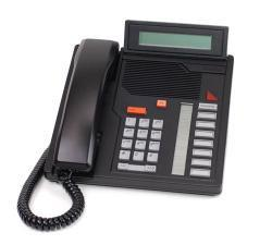 Aastra M5208 Standard Phone - Black - Corded - 1 x Phone Line - Speakerphone (A1602-0000-0207)