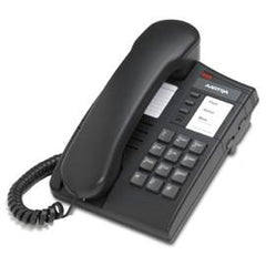 Aastra - Single-line 8004 analog Charcoal telephone, Line Powered (A1219-0006-0000)