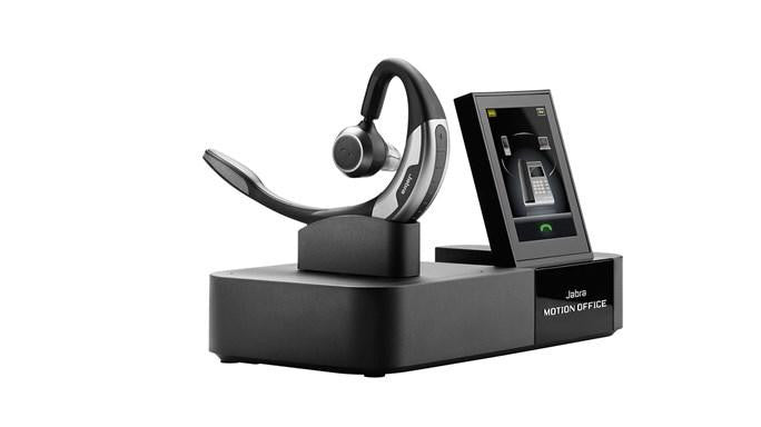 Jabra MOTION Office Earset - Mono - Wireless - Bluetooth - 300 ft - Behind-the-ear - Monaural - Outer-ear - Noise Blackout Microphone (6670-904-105)-FleetNetwork.ca - Networking / Hobby / Automation / Solar / VoiP