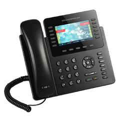 Grandstream Our most powerful Enterprise IP phone,the GXP2170 supports up to 12