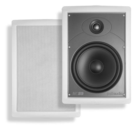 "Polk Audio MC Series Built-in Speaker Rectangular 8 ½"" (MC85)"