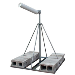 Wade Antenna Flat Roof Mount with Single Mast (NPRM-1)