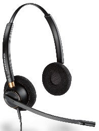 Plantronics HW520 EncorePro Binaural Noise Cancelling Corded Headset (89434-01)