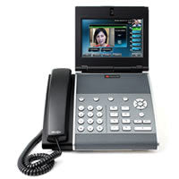 Polycom WX 1500D VoIP Dual Stack SIP Video Phone (PoE, no AC Adapter, GB) (PM1500D)