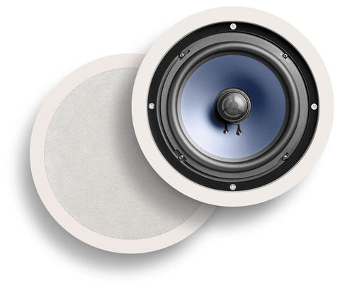 "Polk Audio  Vanishing Series In-Ceiling Speaker Round 6 ½"" Bathroom[PAIR] (RC60i)"