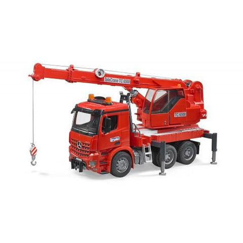 Bruder MB Arocs Crane w Light and Sound (03670) Toy