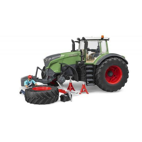 Bruder Fendt X 1000 Tractor w repair accessories (04041) Toy