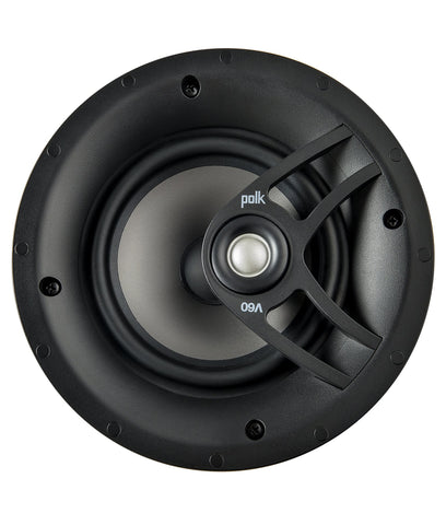 "Polk Audio Vanishing Series In-Ceiling Speaker Round 6 ½"" (V60)"