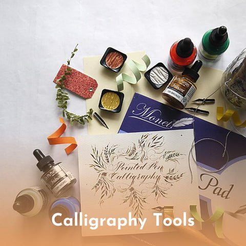 Calligraphy Tools, Nibs & Holders