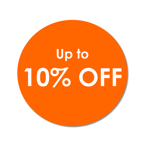 Up to 10% Off