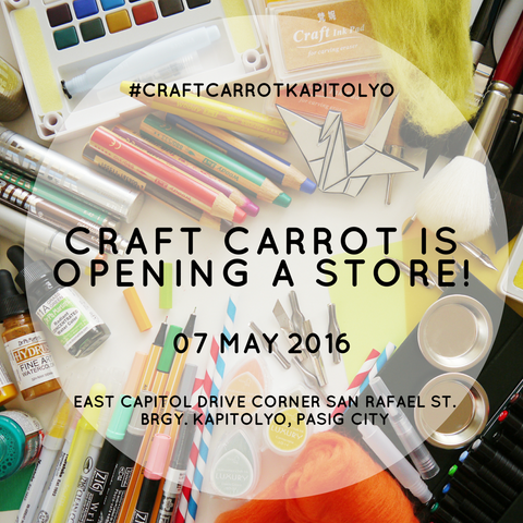 Craft Carrot Store Grand Opening