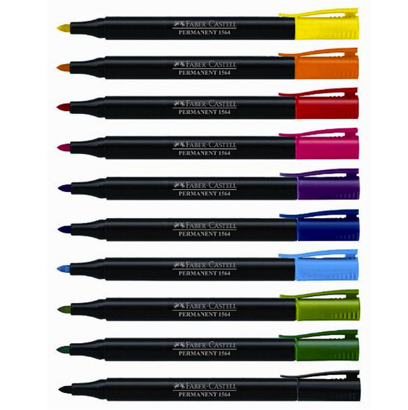 Faber-Castell 1564 Permanent Marker