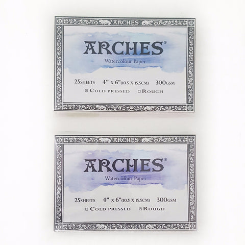 "Arches Postcard Rough (300g 4""x6"")"