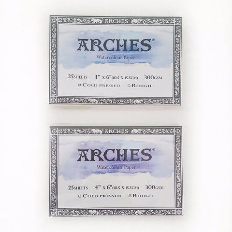 "Arches Postcard Cold-Pressed (300g 4""x6"")"