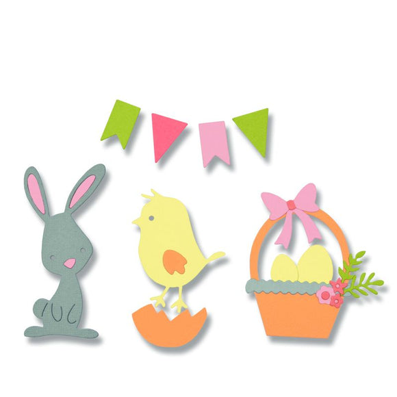 Sizzix Thinlits Die Set - 17PK Easter by Pete Hughes