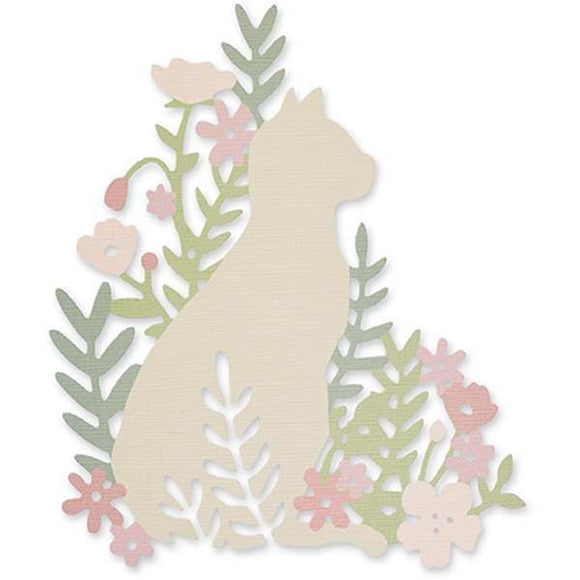 Sizzix Thinlits Die - Meadow Cat