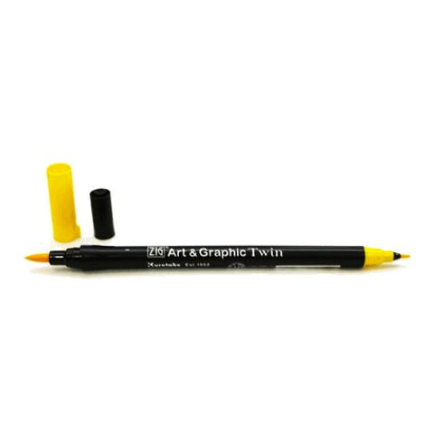 Zig Art and Graphic Twin Marker - Yellow