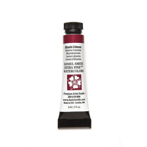 Daniel Smith Extra Fine Watercolor 5mL - Alizarin Crimson