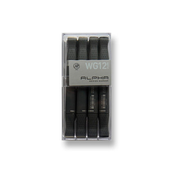 Alpha Design Marker Warm Gray