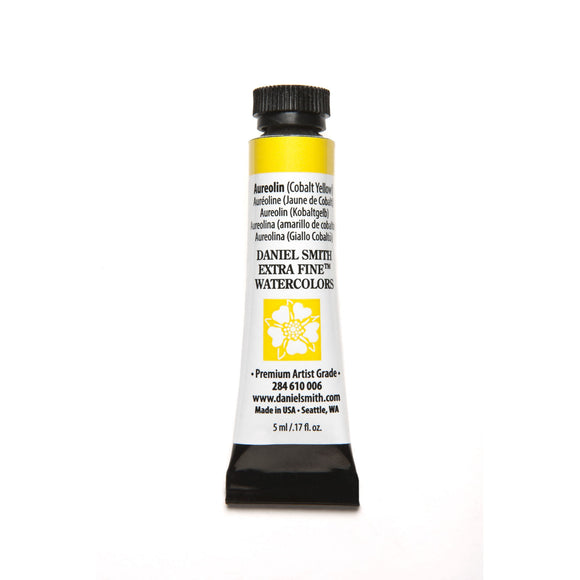 Daniel Smith Extra Fine Watercolor 5mL - Aureolin (Cobalt Yellow)